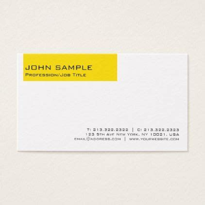 modern elegant professional yellow white plain business