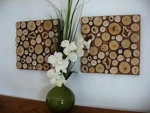 Moderne Wanddeko Aus Holz : wandgestaltung selber machen 140 unikale ideen ~ Bigdaddyawards.com Haus und Dekorationen