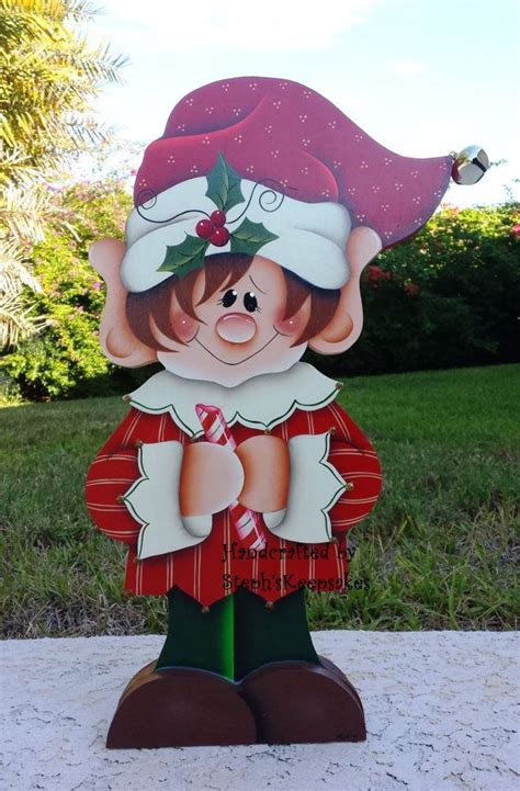 wooden yard art christmas decorations woodworking