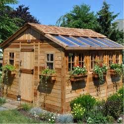 wedding registry home improvement sunshed 12 ft w x 12 ft d wood garden shed wayfair