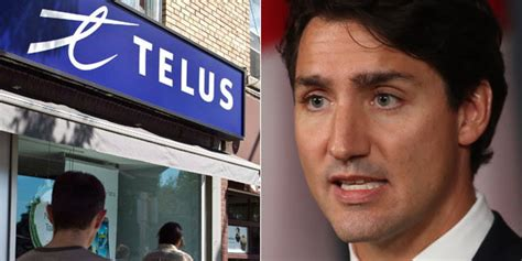 Telus Is Sorry For That Supportive Tweet About Trudeau's