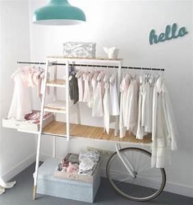 Kinderzimmer Schrank Mädchen : ideen kleiderstange design kinderzimmer m dchen einrichtung pinterest kleiderstange ~ Indierocktalk.com Haus und Dekorationen