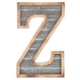 galvanized metal letter  galvanized metal metal letters wooden initials