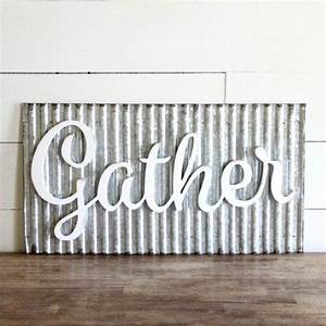 83 best galvenized decor corrugated metal images on With wholesale galvanized letters