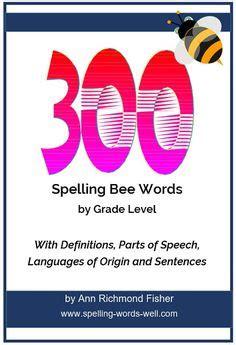 spelling bee words images spelling bee words