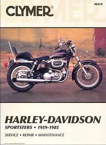 Harley Davidson Sportster Service And Repair Manual  1959