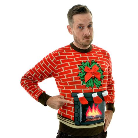 fireplace lighted jumper by ruddy nora