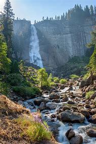 Nevada Falls Yosemite National Park