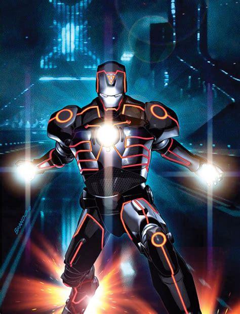 Marvel Comics x TRON: LEGACY Comic Book Covers   HYPEBEAST