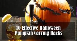 10 Effective Halloween Pumpkin Carving Hacks