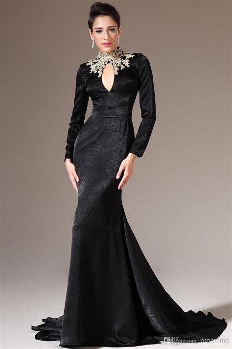 black long sleeves formal dresses formal dresses
