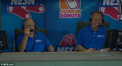 what is a color commentator sox commentator jerry remy loses filling on air and