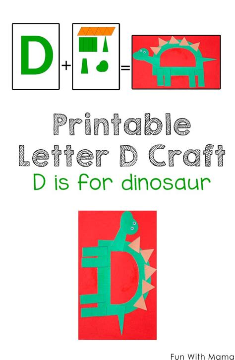 letter d crafts 10 best images about dinosaur theme activities for on 22798 | ab57889840ca2a17a4c3d93c318a6c72