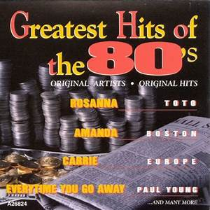 The Greatest Hits Of The 39 80s Vol 8 Various Artists
