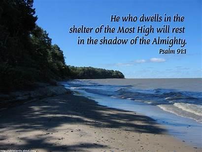 Psalm 91 Bible Shelter God Verses Beach