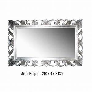 Miroir Baroque Argenté : miroir en argent de type baroque ~ Teatrodelosmanantiales.com Idées de Décoration