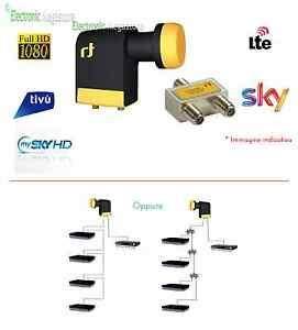 Illuminatore Scr 4 Uscite Inver Lnb Scr Certificato Sky Illuminatore Scr Unicable