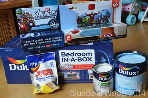 Marvel Dulux Bedroom In A Box by Dulux Bedroom In A Box Review Blue Wood