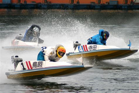 Fast Boats Racing by Experience Japanese Speed Boat Racing Fukuoka Now