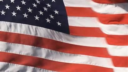 Waving Spangled National Flag Banner Anthem Instrumental