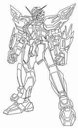Gundam Coloring Wing Colouring Sd Result Gd sketch template