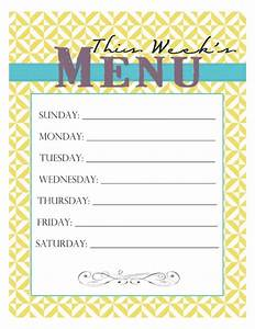 Little Housewife  Meal Planning