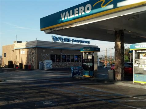 gas l san diego valero gas station gas service stations skyline