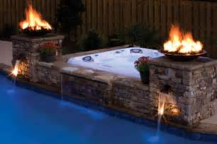 Built in Above Ground Hot Tub