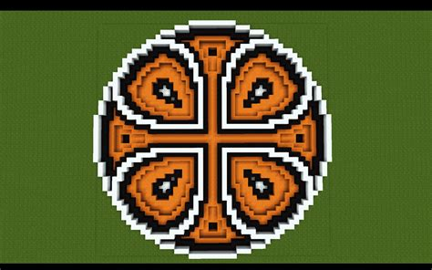 Minecraft Circle Floor Designs by Random Circle Minecraft Project