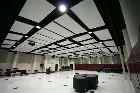 acoustical sound panels and baffles landville drywall