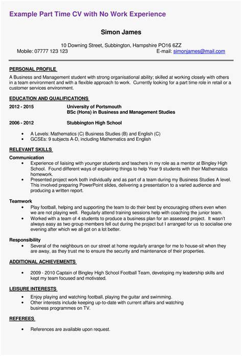 Curriculum vitae examples and writing tips, including cv samples, templates, and a curriculum vitae (cv) provides a summary of your experience, academic background how long should a cv be? Free First Part Time Job Resume Sample Templates At - Resume For Part Time Job Hd, HD Png ...