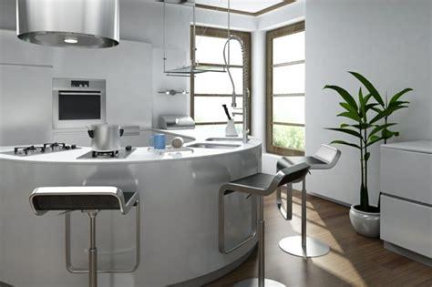 le decor de la cuisine la cuisine arrondie dans 41 photos pleines d 39 idées