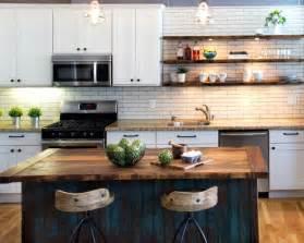 fabriquer sa table de cuisine fabriquer un îlot de cuisine 35 idées de design créatives