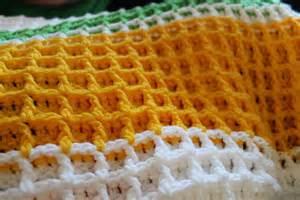Free Crochet Waffle Stitch Afghan Pattern