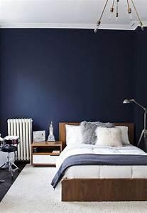 Deco Chambre Ami : 10 id es de bleu dans la d coration all blue everything chambre mur bleu murs bleu fonc et ~ Melissatoandfro.com Idées de Décoration