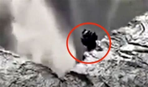 Ancient alien spotted near Iceland waterfall - conspiracy ...
