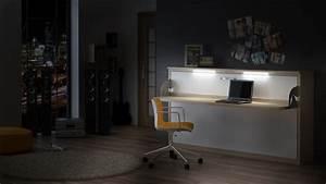 Schrankbett Mit Schreibtisch : quer wandbett schrankbett singlo desk 90 x 200 cm in wei buche ~ Eleganceandgraceweddings.com Haus und Dekorationen