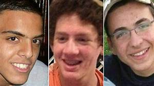 Israeli Teenagers Confirmed Dead