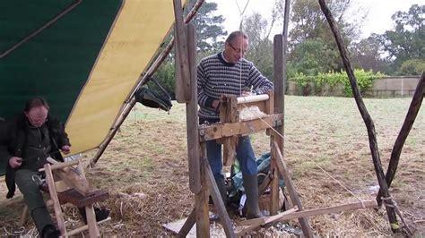 making  pole lathe treadle assembly youtube
