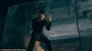 Eminem in deserted factory in video for new single ...