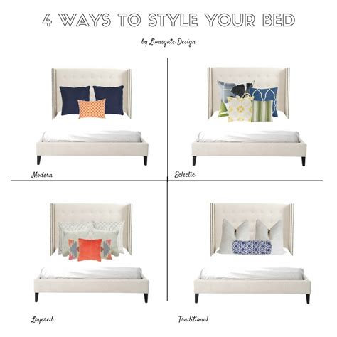Ways To Your In Bed by 4 Ways To Style Your Bed Lionsgate Design