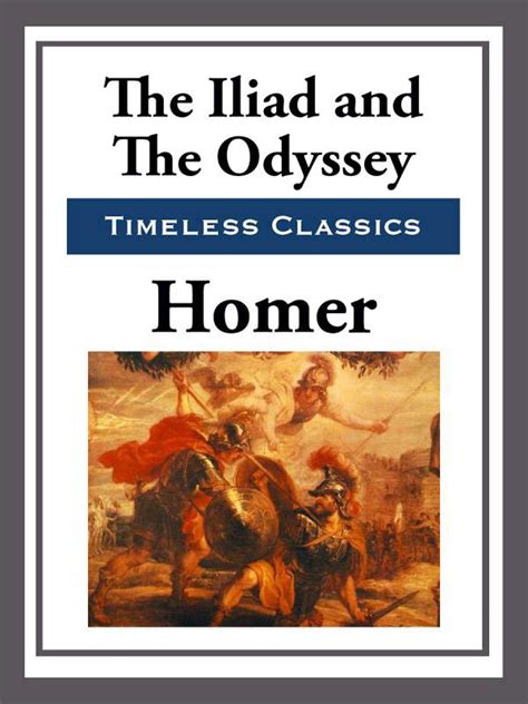 The Iliad & The Odyssey Ebook By Homer Official
