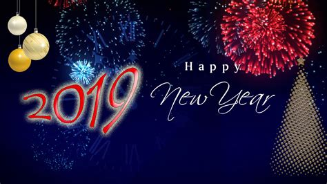 Free Happy New Year 2019 Hd Wallpapers Images Pictures Photos