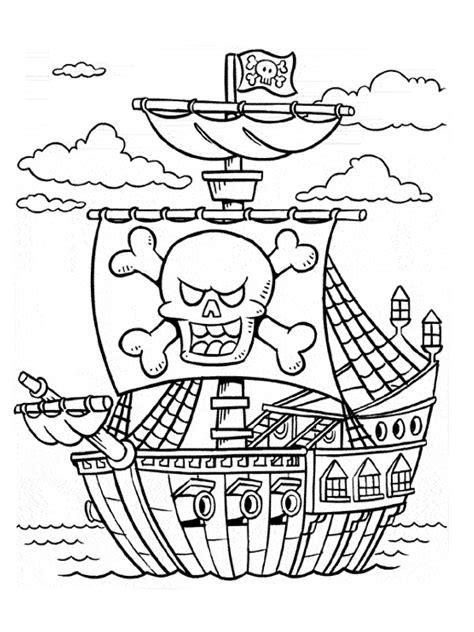 disegni dei pirati da colorare