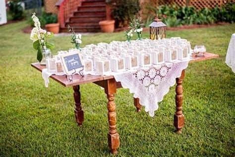 picture of completely diy rustic lakeside wedding 16