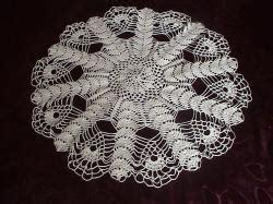 grille gratuite de napperons au crochet