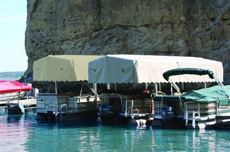 Hewitt Boat Lift by Co Marine Boat Lift Canopy Cover For Hewitt 12 X 110