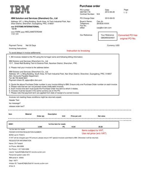 simple purchase order templates   google