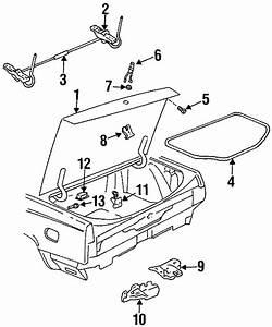 Buick Lesabre Bumper  Trunk Lid Stopper
