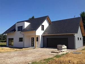 Calcul Surface Toiture 2 Pans : maison en ossature bois abt construction ~ Premium-room.com Idées de Décoration